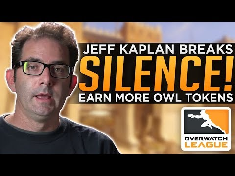 Overwatch: Jeff Kaplan Finally SPEAKS! - Earn MORE OWL Tokens thumbnail