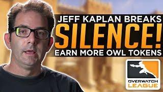Overwatch: Jeff Kaplan Finally SPEAKS! - Earn MORE OWL Tokens