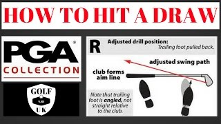 HOW TO HIT A DRAW .BY THE PGA PRO .
