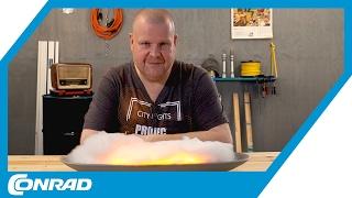 Elektrisches Kaminfeuer aus LED-Flackerlichtern - Smart DIYs mit Stefan | Conrad