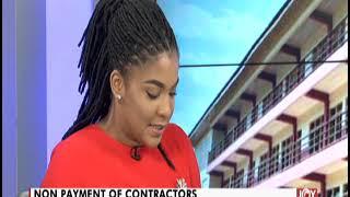 Non Payment Of Contractors - News Desk on JoyNews (12-6-19)