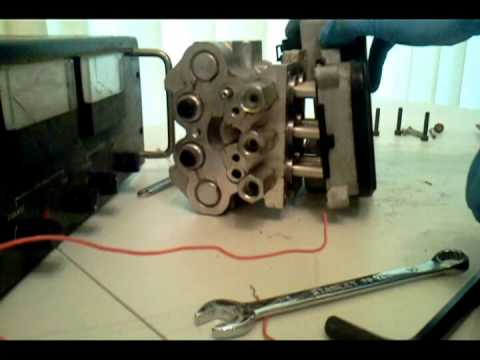 Inside An Abs Motor Module Embly