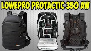 Подробный обзор фото рюкзак Lowe Pro Pro tactic 350 AW. Крепкий, большой и вместительный