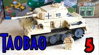 Kazi KY82008 Panzerkampwagen 3 Китайский Лего немецкий танк Времен Второй мировой войны