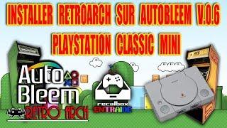 Tuto installer retroarch sur playstation classic