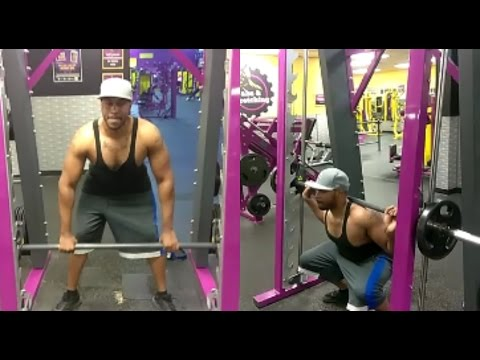 Planet Fitness Smith Machine Workout you can do