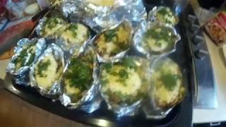 Хочу пожрать.. Запеченный Фаршированный Картофель  Stuffed Potatoes / Простой Рецепт (Очень Вкусно)