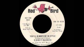 Sidney Barnes - You