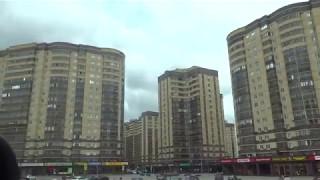 🚗 Воронеж. Едем по улице Шишкова. Новостройки и частные дома