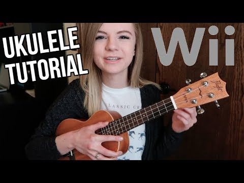 How to play wii music on ukulele! (mii channel theme tutorial)