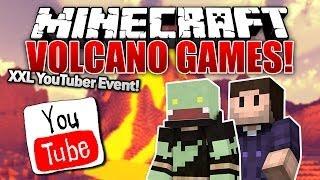 Minecraft VOLCANO GAMES - XXL YouTuber EVENT! mit Zombey| ungespielt
