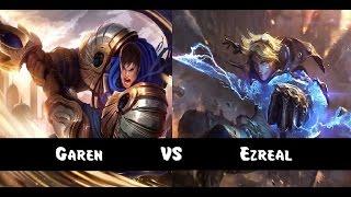 Garen vs Ezreal - Top lane (Season 6)