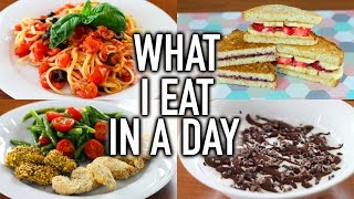 WHAT I EAT IN A DAY!! #2