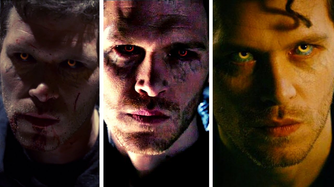 Download The Vampire Diaries & The Originals: All Klaus Hybrid Eyes Moments