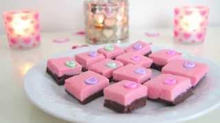 DIY Quick & Easy Valentine's Day Treats ~ Valentine's Day Fudge Thumbnail