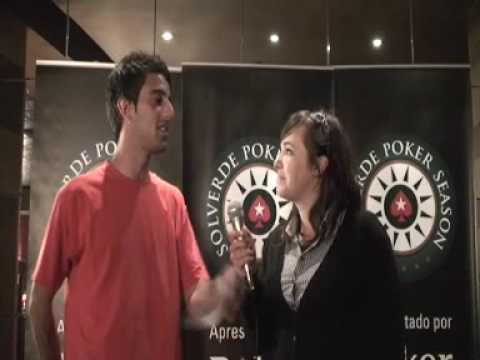 Entrevista a Fábio Duarte, vencedor da Festa do Poker!