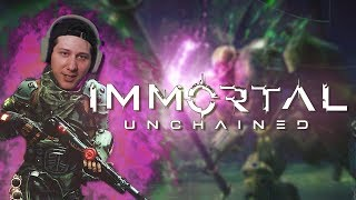 DARK SOULS W/ BIG GUNS?! | IMMORTAL: UNCHAINED (EARLY PC GAMEPLAY)