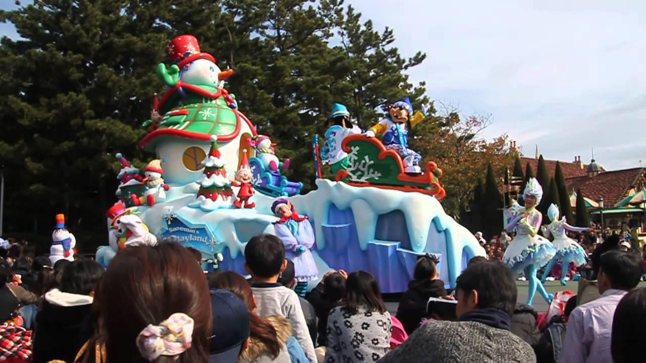 2014 東京迪士尼聖誕遊行