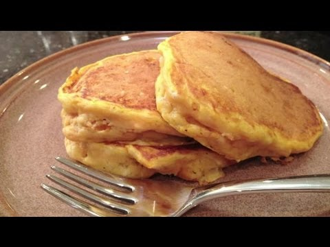 Homemade Pumpkin Pancake Recipe : Pancake Breakfast