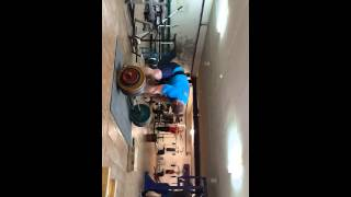 Кирилл Сарычев становая тяга 380 кг подготовка к отборочному турниру на БЧ 2014.