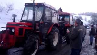Vuča traktora.... Bužim-Bućevci