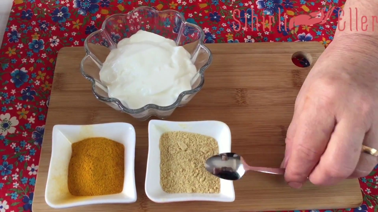 Göbek eriten: Pul biberli yoğurt kürü