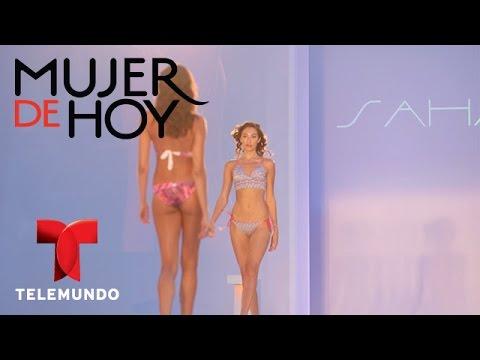 Mujer de Hoy | Colección de trajes de baño de Saha | Telemundo
