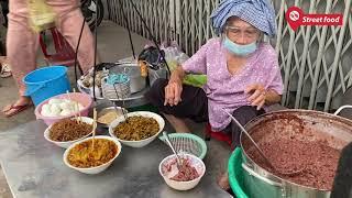Gánh cháo đậu rẻ nhất Sài Gòn bán 50 năm của bà ngoại 85 tuổi
