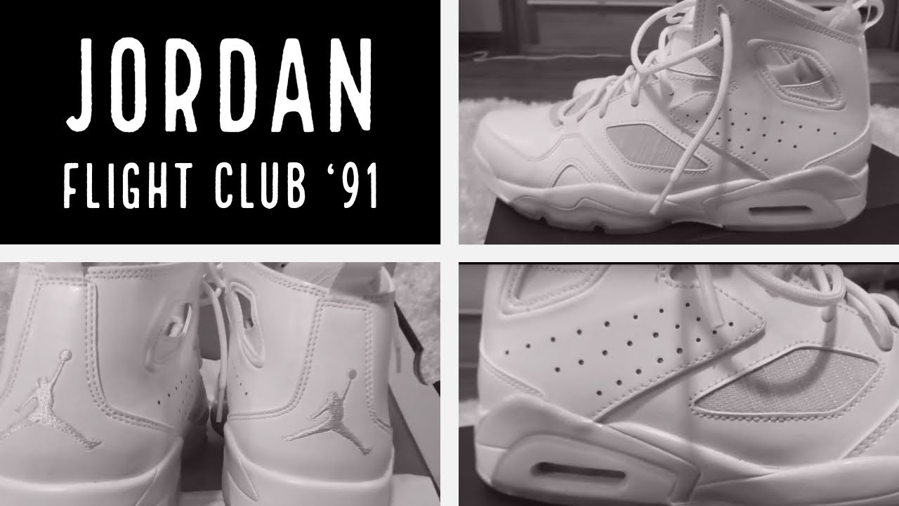 Unboxing Jordan Flight Club  91 Basketball Shoes  105 - YouTube 82c16c771