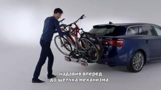 видео Как удобно и безопасно перевозить велосипед?