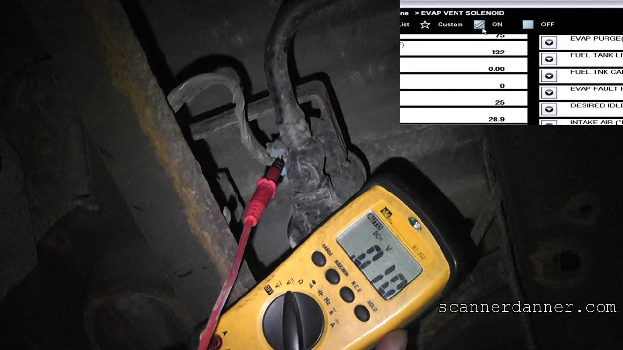 2008 Chevy Avalanche Evap Vent Solenoid Test P0449 P0455 Youtube Engine Stand Wiring Diagram