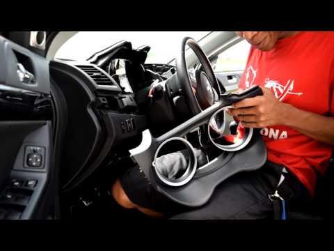 2008-2015 Mitsubishi Lancer Evo X - Dual Pod Cluster Install