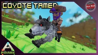 EARLY GAME COYOTE TAMING | PIXARK [GAMEPLAY EP2]