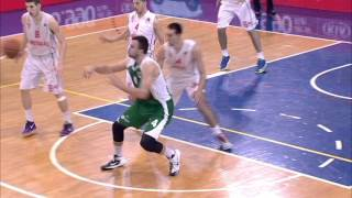 rebec 3 point show three times from 9 metres in a single game