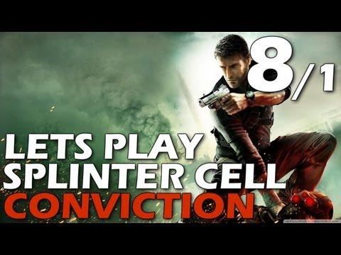 Lets Play: Splinter Cell Conviction - Third Echelon HQ (Episode 8, Part 1)