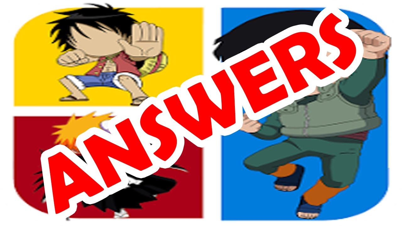 Anime Characters Quiz Answers : Cartoon quiz answers level  adultcartoon