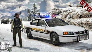 2003 IMPALA SHERIFF| GRAPESEED PATROL!!!| #119 (GTA 5 REAL LIFE PC POLICE MOD)