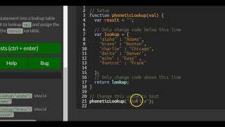 Basic Javascript Using Objects For Lookups