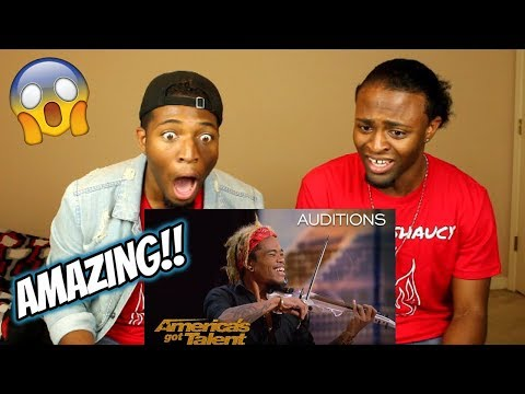 Brian King Joseph: Electric Violinist Stuns With Talent - America's Got Talent 2018 (REACTION)