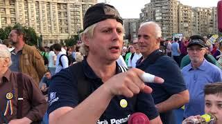 Protest Piața Victoriei, decizia CCR a scos sute de oameni in stradă!