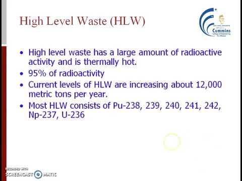 Nucelar waste disposal