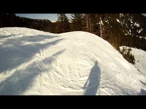 GoPro Skiing Grouse Mountain