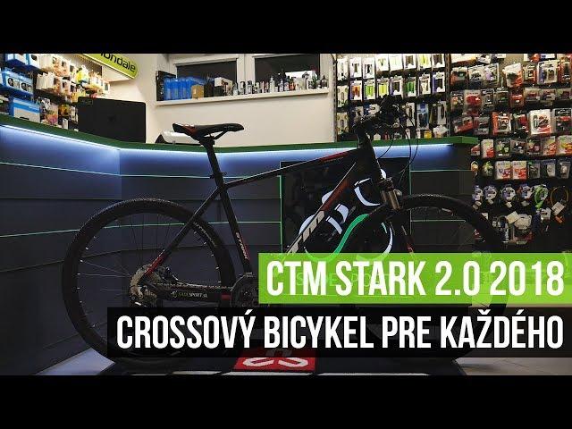 CTM STARK 2.0 je všestranný crossový bicykel pre každodenné použitie