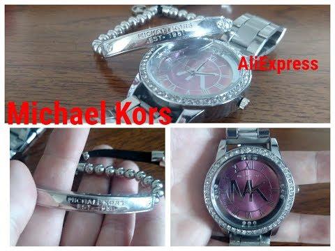 Брендовая бижутерия с АлиЭкспресс♥ Майкл корс браслет и часы♥ Bracelet&watch Michael Kors