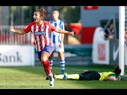 LIGA IBERDROLA   Atlético de Madrid Femenino 3-1 Sporting de Huelva