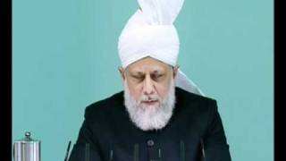 Friday Sermon: 22nd October 2010 - Part 3 (Urdu)