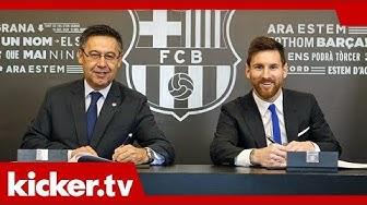 700 Millionen Euro Ausstiegsklausel - Messi bis 2021 bei Barca