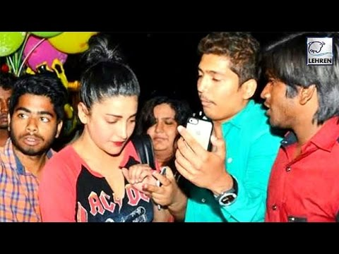 Shruti Haasan Harassed By Fans