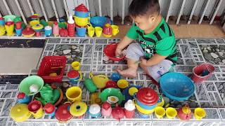 Trò Chơi Bán Hàng Nấu Ăn Làm Bếp ❤ ChiChi ToysReview TV ❤ Đồ Chơi Trẻ Em Baby Toys