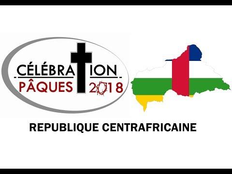 Célébration paques2018 en République Centrafricaine